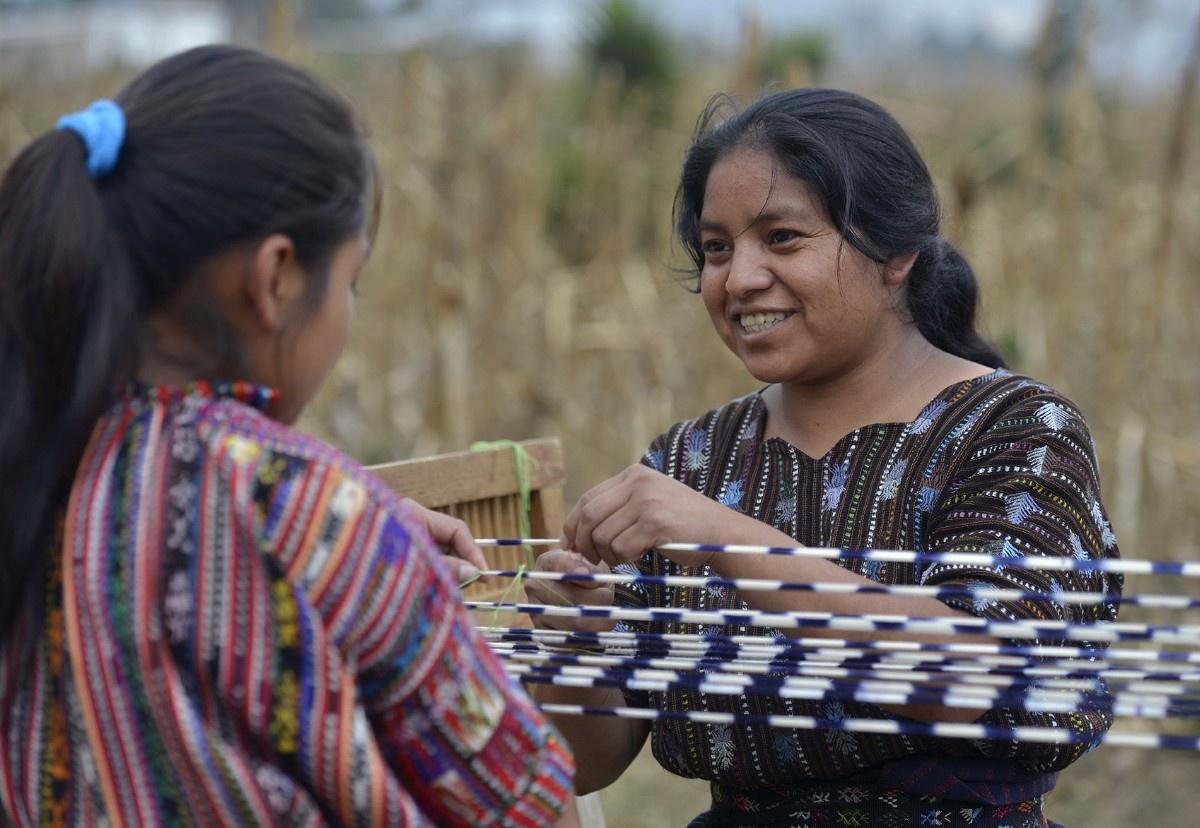Weberinnen von Aj Quen aus Guatemala